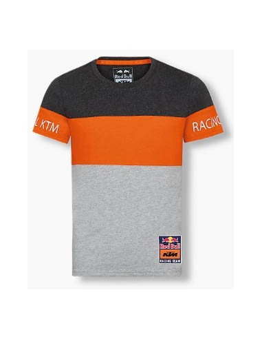 Camiseta Red Bull KTM Racing Kid Letra Block