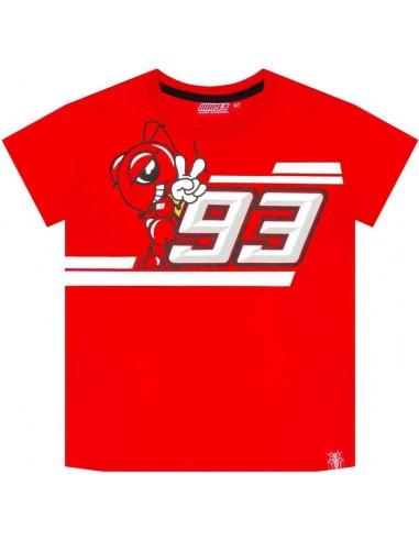 Camiseta Marquez 93 Kid Ant Cartoon