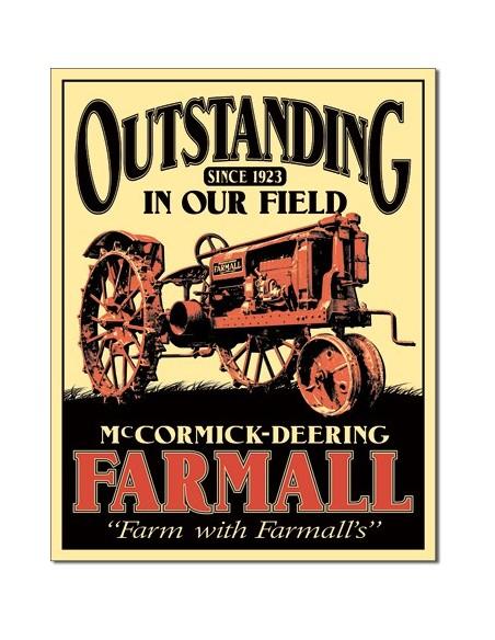 Placa Farmall Outstanding