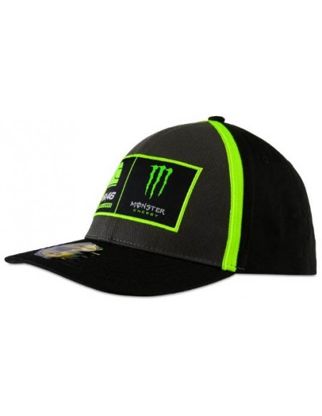 Gorra Rossi 46 Academy Monster Energy 2020