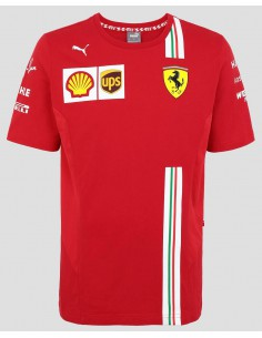 Camiseta Scuderia Ferrari Team F1 2020