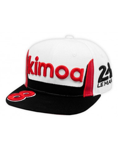 Gorra Kimoa Fernando Alonso 24h Le Mans Flat