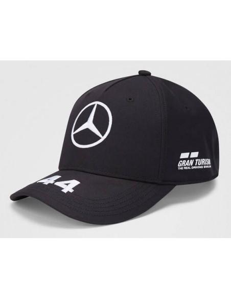 Gorra Mercedes AMG Petronas F1 Hamilton 2020 Negro