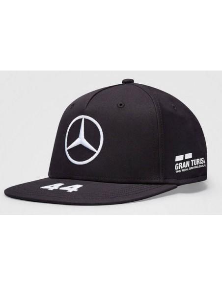 Gorra Mercedes AMG Petronas F1 Hamilton Flat 2020 Negro