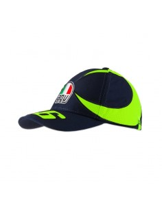 Gorra Rossi 46 Kid Replica Casco Sol Luna