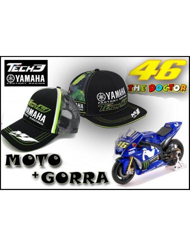 Pack Gorra Yamaha Tech3 Racing - Moto Rossi Yamaha 46