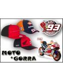 Pack Gorra Marc Marquez 93 - Moto Marquez Honda Repsol 93