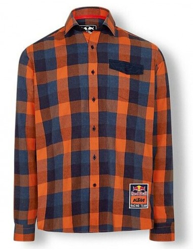 Camisa Red Bull KTM Racing Team Checked Flannel