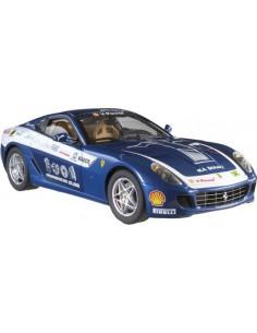 Hotwheels Ferrari 599 GTB Panamericana Azul