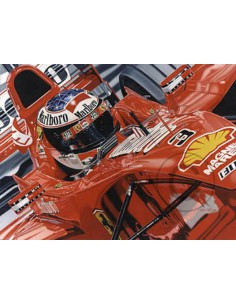 Litografia Seeing Red - Michael Schumacher - Colin Carter