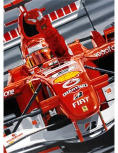 Litografia Farewell To The Master - Michael Schumacher- Colin Carter