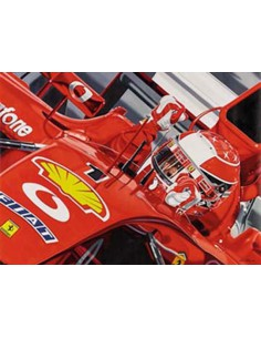 Litografia Gimme Five - Michael Schumacher