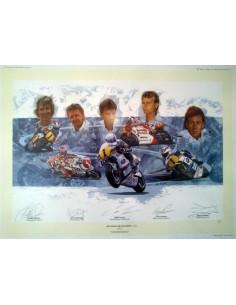 Litografia The World's Greatest Riders II - Craig Warwick