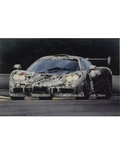 Litografia Art et l'Automobile - Rosemary Hutchings