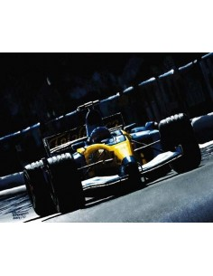 Litografia Flash of Blue - Fernando Alonso - Michael Thompson