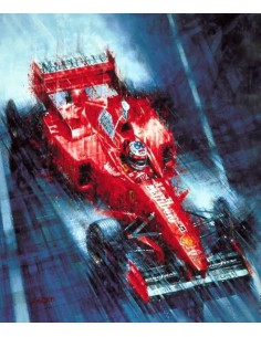 Litografia Michael Schumacher - Juan Carlos Ferrigno