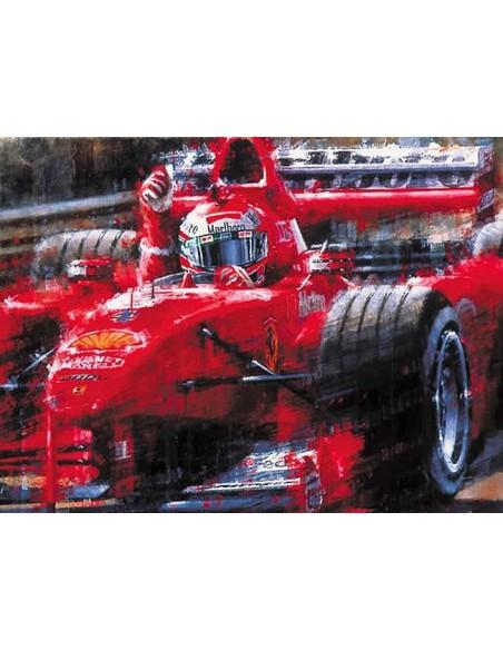 Litografia Victory Lap - Irvine - Juan Carlos Ferrigno