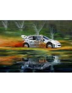 Litografia Reflections of a Champion - Gronholm - Michael Thompson