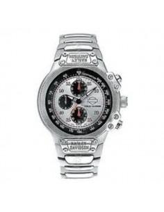 Reloj Harley Davidson Logo Nombre Correa Acero