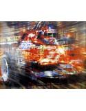 Litografia Forza Gilles - Villeneuve - Juan Carlos Ferrigno