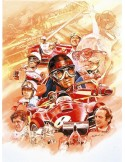 Litografia Ferrari Anniversary - Craig Warwick