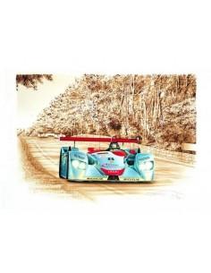 Litografia Audi R8 Le Mans 2000 - François Bruere
