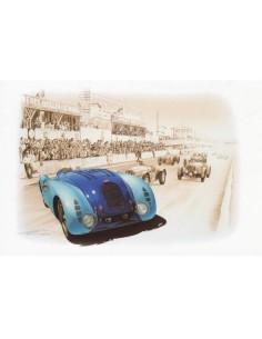 Lamina Bugatti 57 G Le Mans 1937 - Francois Bruere