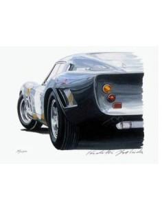 Litografia Ferrari 250 Drogo - Hideki Yoshida