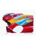 Litografia Ferrari 275 GTB - Hideki Yoshida