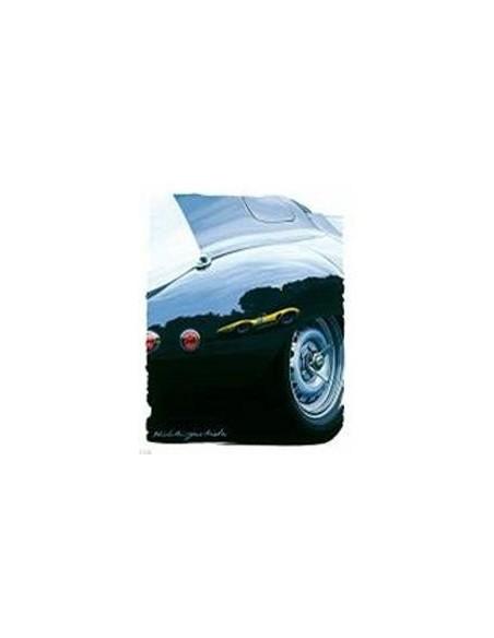 Litografia Jaguar Type D - Hideki Yoshida