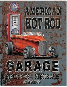 Placa American Hot Rot