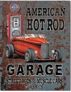 Placa American Hot Rot