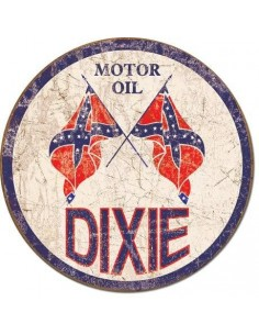 Placa Dixie Gas