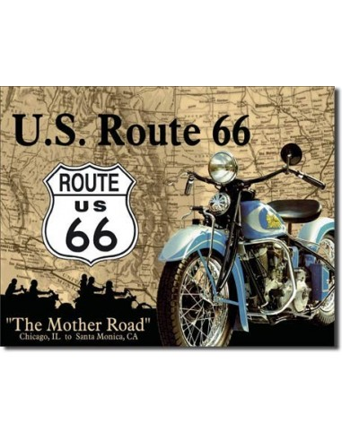 Placa The Mother Road