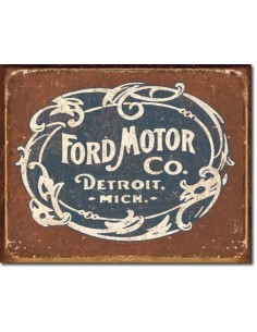 Placa Ford Historic Logo