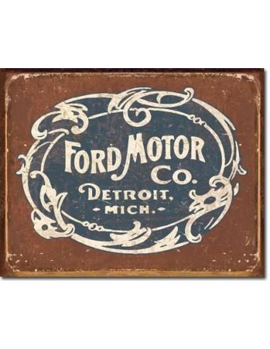 Placa Ford Historic Logo