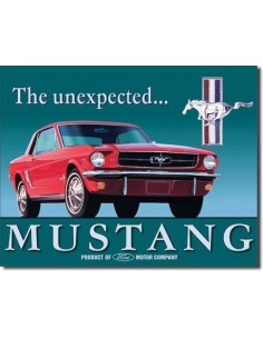 Placa Ford Mustang