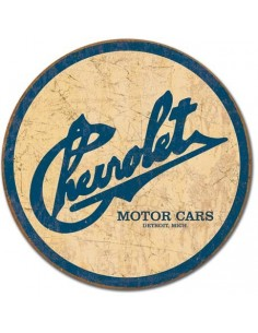 Placa Chevy Historic Logo