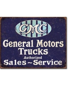 Placa GMC Trucks Authorized