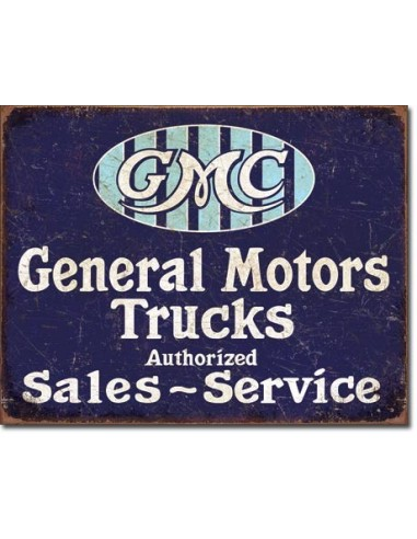 Placa GMC Trucks Authorized