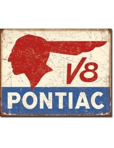 Placa Pontiac V8