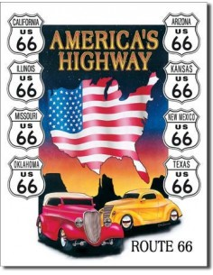 Placa America's Highway