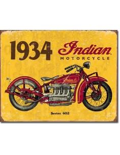 Placa 1934 Indian