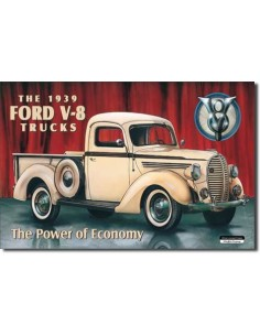 Placa Ford Pick-Up 1939