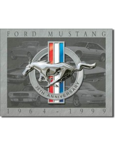 Placa Mustang 35th Anniversary