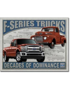 Placa Ford F-Series Trucks