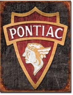 Placa 1930 Pontiac Logo