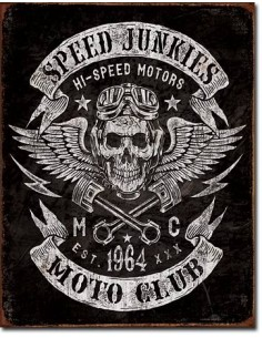 Placa Speed Junkies