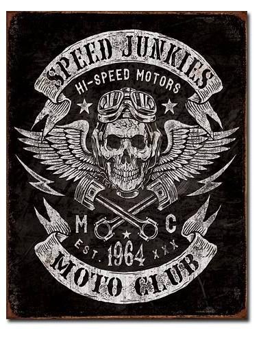 Placa Speed Junkies