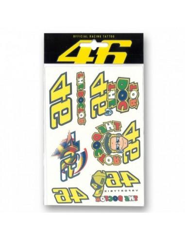 Pack Adhesivos Rossi VR46 Pequeño